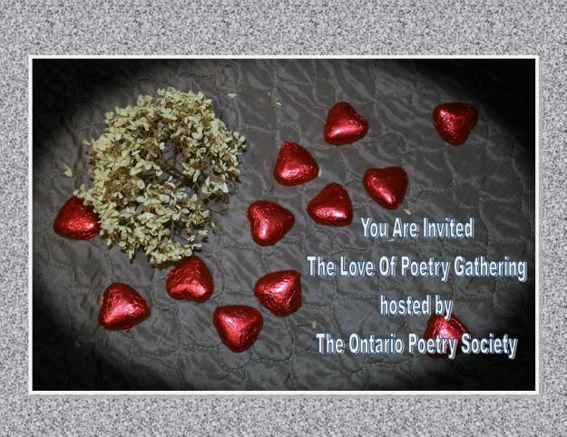 TOPS The Love of Poetry Gathering in North York invite